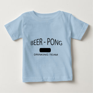 Beer Pong XXL Drinking Team Baby T-Shirt