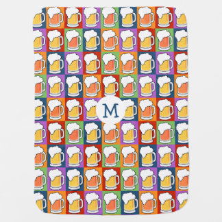 BEER Pop Art baby blanket