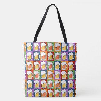 BEER Pop Art bags Tote Bag