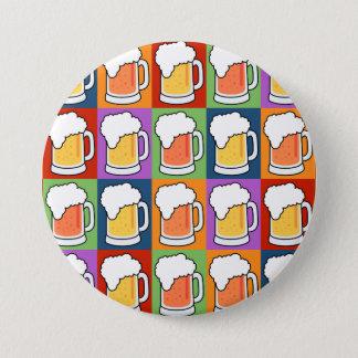 BEER Pop Art button