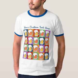 BEER Pop Art custom clothing T-Shirt