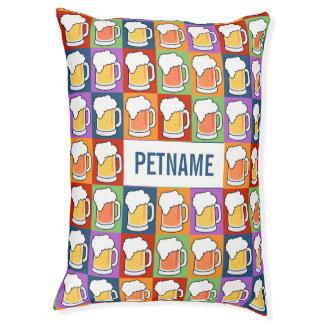 BEER Pop Art custom Dog pillows
