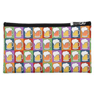 BEER Pop Art custom monogram accessory bags