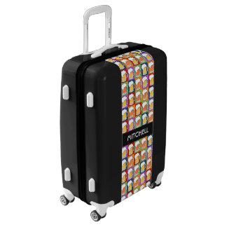 BEER Pop Art custom name luggage