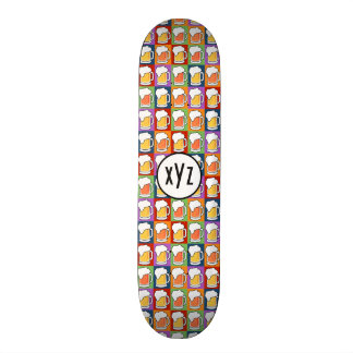 BEER Pop Art custom skateboards
