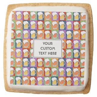BEER Pop Art custom text cookies
