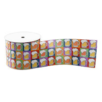 BEER Pop Art gift ribbon