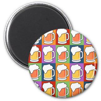 BEER Pop Art magnet