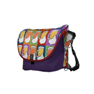 BEER Pop Art messenger bag