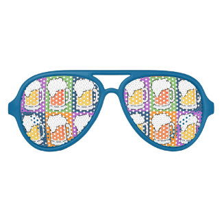 BEER Pop Art party shades