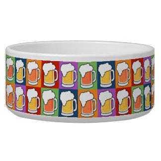 BEER Pop Art pet bowls