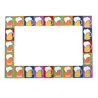 BEER Pop Art picture frame Photo Frame Magnet