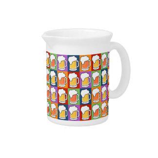 BEER Pop Art pitcher