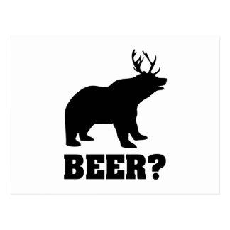 Beer? Postcard