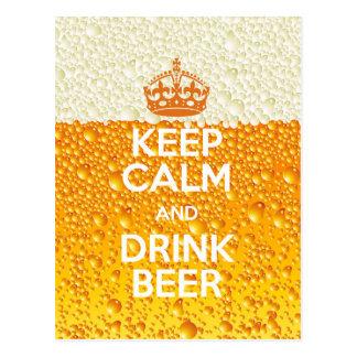 Beer Postcard
