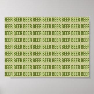 Beer Print
