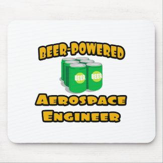 Beer-Powered Aerospace Engineer Mousepad