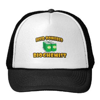 Beer-Powered Biochemist Trucker Hats