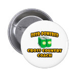 Beer-Powered Cross Country Coach Buttons
