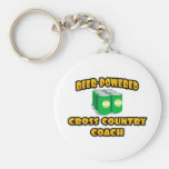 Beer-Powered Cross Country Coach Key Chains