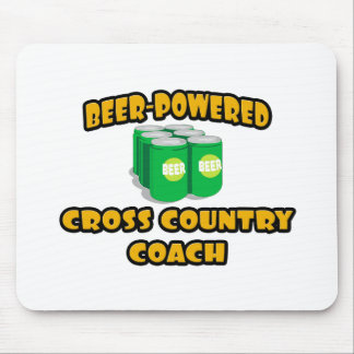 Beer-Powered Cross Country Coach Mousepad