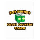 Beer-Powered Cross Country Coach Postcard