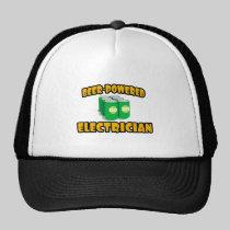 Beer-Powered Electrician Hats