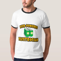 Beer-Powered Electrician T Shirt