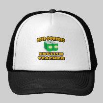 Beer-Powered English Teacher Hat
