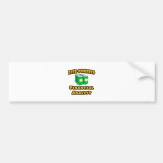 Beer-Powered Financial Analyst Bumper Sticker