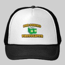Beer-Powered Firefighter Hat