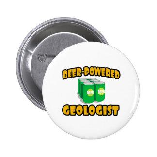Beer-Powered Geologist Pins