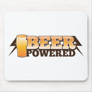 BEER POWERED MOUSE PAD