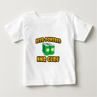 Beer-Powered NMR Guru Baby T-Shirt