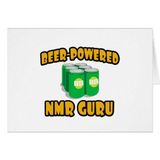 Beer-Powered NMR Guru Card