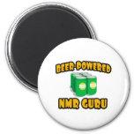 Beer-Powered NMR Guru Fridge Magnet