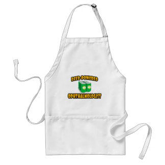 Beer-Powered Ophthalmologist Adult Apron