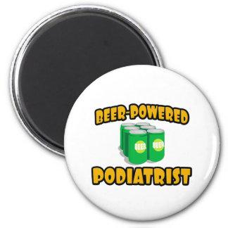 Beer-Powered Podiatrist Fridge Magnets