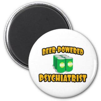 Beer-Powered Psychiatrist Fridge Magnets