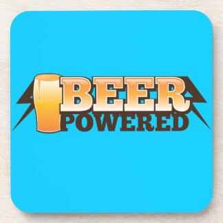BEER POWERED The Beer Shop design coaster