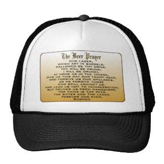 Beer Prayer Hats