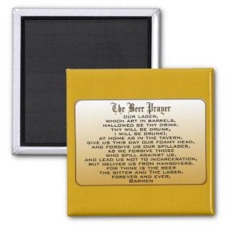 Beer Prayer Fridge Magnets