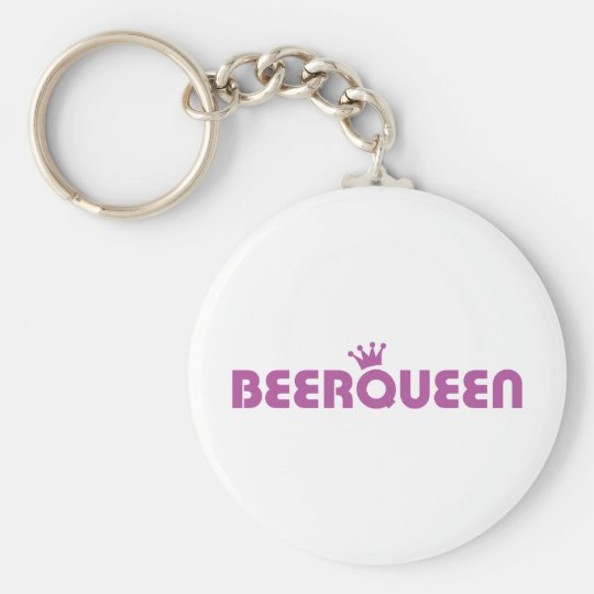 beer queen icon keychain