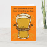"Beer Quote Birthday Card, Birthday Beer, Lads Card<br><div class=""desc"">Beer Quote Birthday Card,  Birthday Beer,  Lads Card</div>"