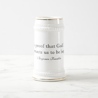 Beer Quote Stein