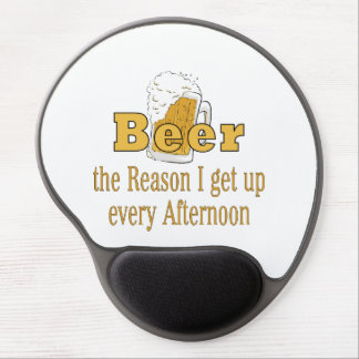 Beer Reason I Get Up Gel Mouse Pad