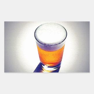 Beer Rectangular Sticker