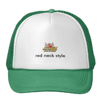beer, red neck style trucker hat