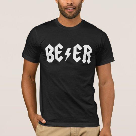 Beer Rocks Men T-Shirt