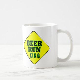 Beer Run Crossing Coffee Mug